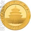 Zlatá mince Panda 1 oz
