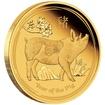 Zlatá mince Rok Vepře 1/10 oz