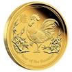 Zlatá mince Rok Kohouta 1/10 oz