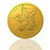 Zlatá mince Převratné osmičky našich dějin - 1968 Pražské jaro proof