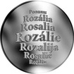 Česká jména - Rozálie - stříbrná medaile