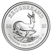 South African Mint Stříbrná mince Krugerrand 1 oz (2021)