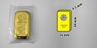 Investiční zlatý slitek 100g Argor Heraeus SA Švýcarsko