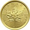 Zlatá investiční mince Maple Leaf 1/10 Oz