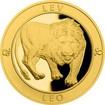 Zlatý dukát Znamení zvěrokruhu s věnováním - Lev 2017 Proof