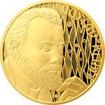 Zlatá půluncová mince Gustav Klimt 2018 Proof