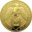Zlatá investiční mince The Queen's Beasts The Falcon 1 Oz 2019