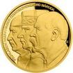 Zlatá půluncová medaile Přijetí Washingtonské deklarace 2018 Proof