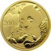 Zlatá investiční mince Panda 15g 2019