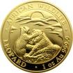 Zlatá investiční mince Leopard Somálsko 1 Oz 2019