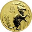 Zlatá investiční mince Year of the Mouse Rok Myši Lunární 2 Oz 2020