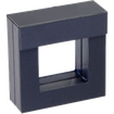 Luxusní transparentní etue - dárkové krabičky 50 x 50 mm