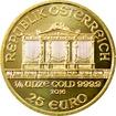 Zlatá investiční mince Wiener Philharmoniker 1/4 Oz