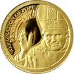 Zlatá mince Rezignace Benedikta XVI. 0.5g Miniatura 2013 Proof