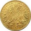 Zlatá investiční mince Dvacetikoruna Františka Josefa I. 1915 (novoražba)