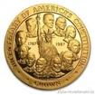 Zlatá mince k výročí 100 let americké ústavy-proof 1/2 Oz
