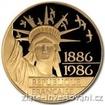 Zlatá mince 100 franků-1986 1/2 Oz