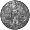 Nejkrásnější medailon I. Nové Město pražské - 1 kg Ag patina