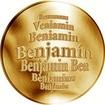 Česká jména - Benjamín - zlatá medaile