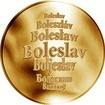 Česká jména - Boleslav - zlatá medaile