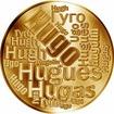 Česká jména - Hugo - velká zlatá medaile 1 Oz