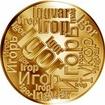 Česká jména - Igor - velká zlatá medaile 1 Oz