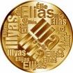 Česká jména - Ilja - velká zlatá medaile 1 Oz