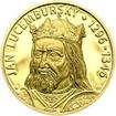 Jan Lucemburský - 720. výročí narození zlato proof