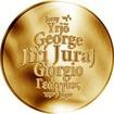 Česká jména - Jiří - zlatá medaile