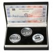 JIZERSKÝ MOST NA TRATI TANVALD-HARACHOV – návrhy mince 5000,-Kč sada t