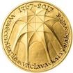 Vysvěcení kaple sv. Václava v katedrále sv. Víta - 650. výročí zlato p