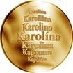 Česká jména - Karolína - zlatá medaile