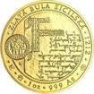 Korunovace Přemysla Otakara I. českým králem - zlato b.k.