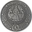 Nejkrásnější medailon II. - Královská pečeť Ag Patina