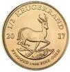 Investiční zlato - Zlatá mince - Kruger Rand 1/2 Oz Unc.