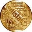Česká jména - Ladislav - velká zlatá medaile 1 Oz