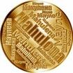 Česká jména - Mahulena - velká zlatá medaile 1 Oz