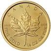 Investiční zlato - Zlatá mince - Maple Leaf 1/4 Oz