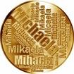 Česká jména - Michaela - velká zlatá medaile 1 Oz