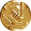 Česká jména - Miloslav - velká zlatá medaile 1 Oz