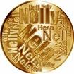Česká jména - Nela - velká zlatá medaile 1 Oz