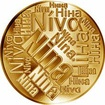 Česká jména - Nina - velká zlatá medaile 1 Oz