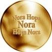 Česká jména - Nora - zlatá medaile