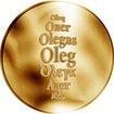 Česká jména - Oleg - zlatá medaile