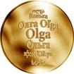 Česká jména - Olga - zlatá medaile