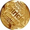 Česká jména - Patricie - velká zlatá medaile 1 Oz