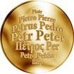 Česká jména - Petr - zlatá medaile