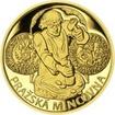 Pražská mincovna - zlato 1/2 Oz Proof
