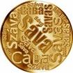 Česká jména - Sáva - velká zlatá medaile 1 Oz