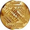 Česká jména - Silvestr - velká zlatá medaile 1 Oz